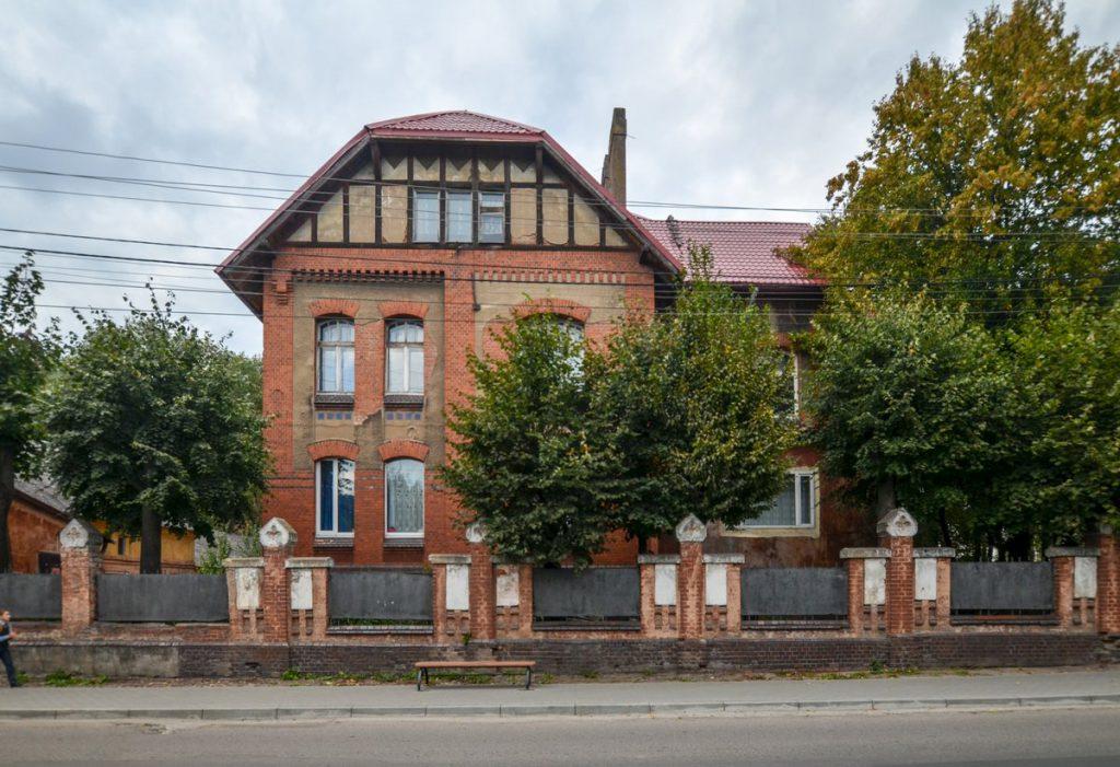 Комплекс зданий бывшей психиатрической лечебницы в Гвардейске