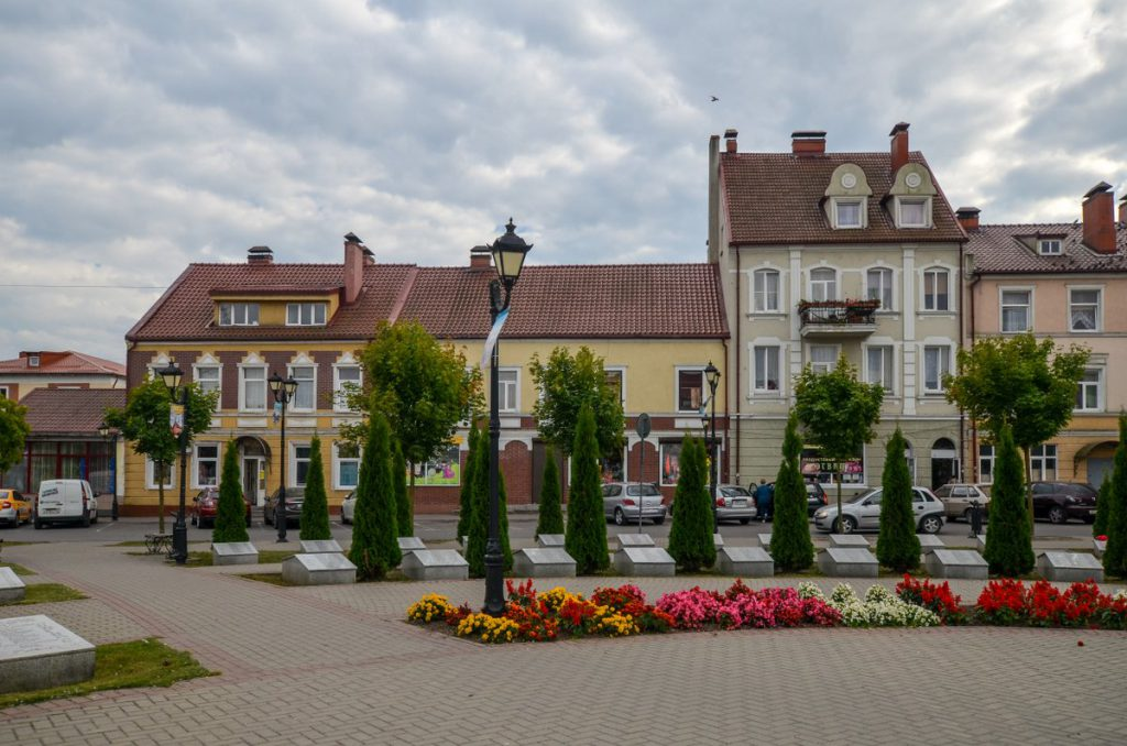 Рыночная площадь в Гвардейске