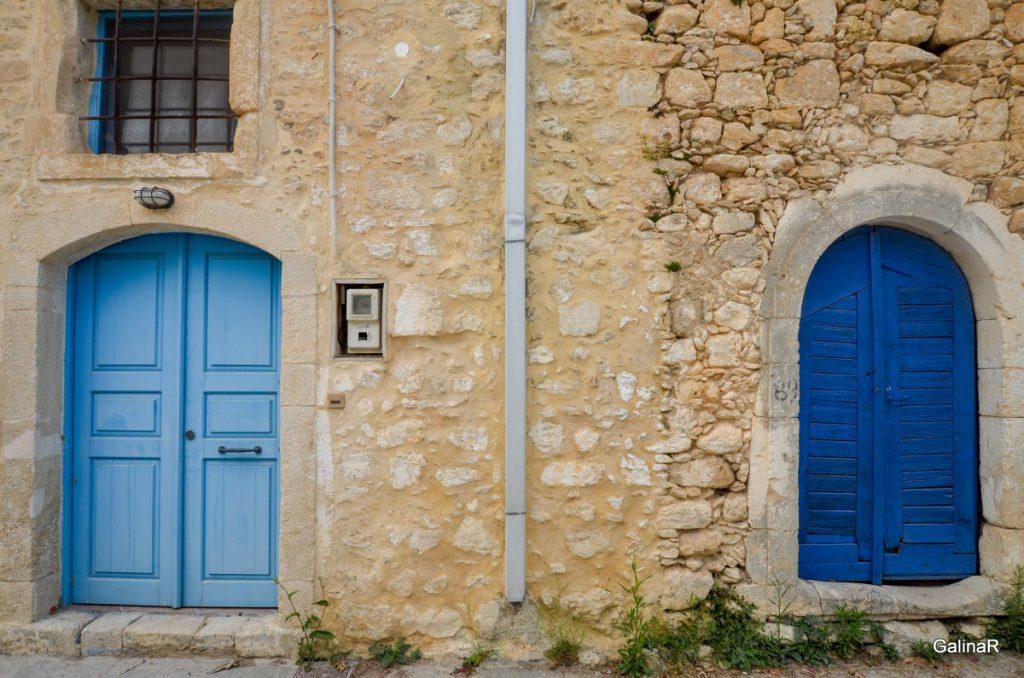 Деревня Аргироуполис на Крите