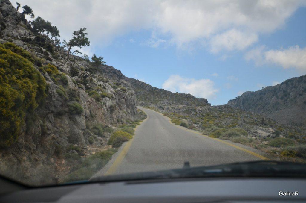Горная дорога Каликратис – Капсодассос