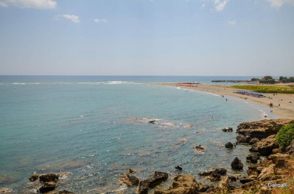 Пляж Франгокастелло на Крите