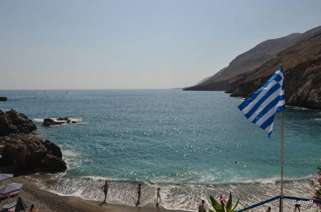 Пляж Хора Сфакион