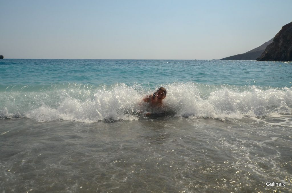 Пляж в Хора Сфакион на Крите