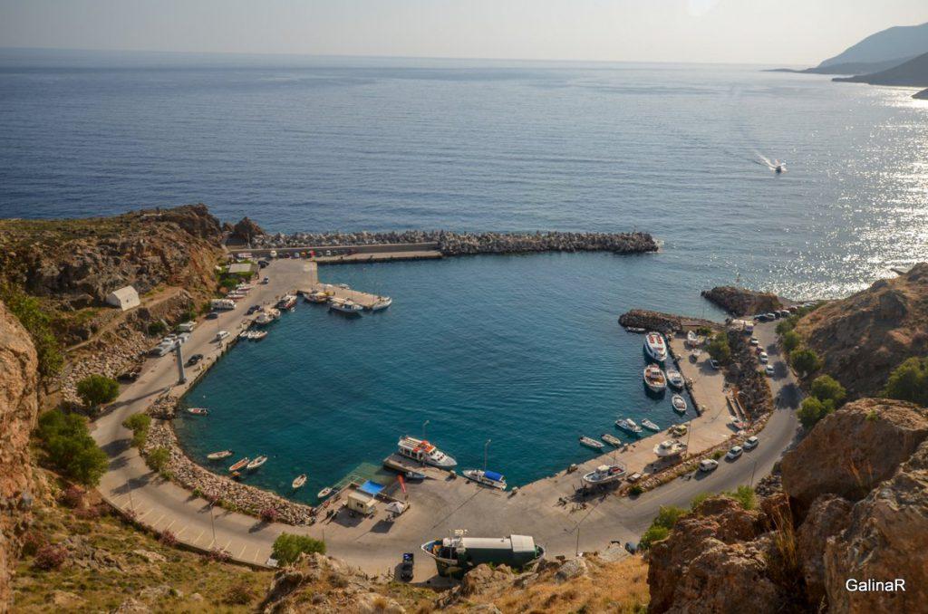 Порт Хора Сфакион на Крите