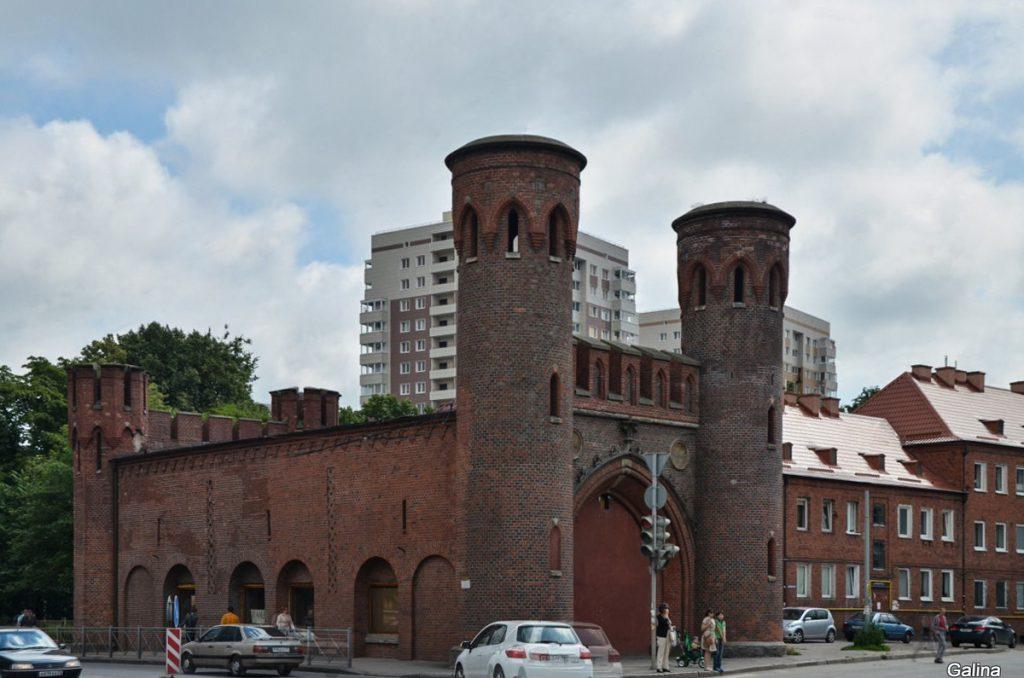 Закхаймские ворота Калининграда