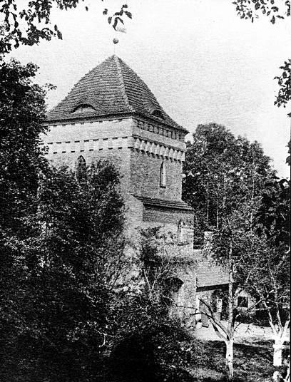 Замок Гросс Вонсдорф довоенное фото