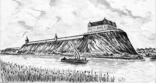 Замок Гросс Вонсдорф макет