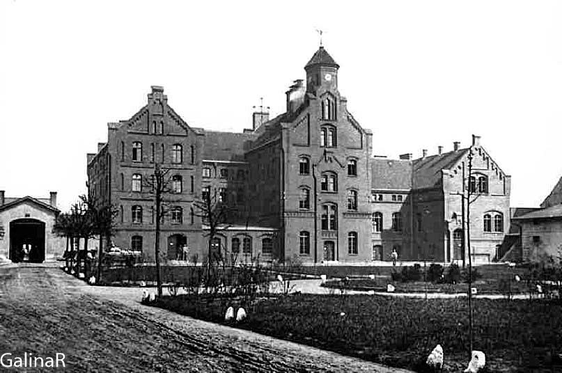 Замок Тапиау в Гвардейске, довоенное фото