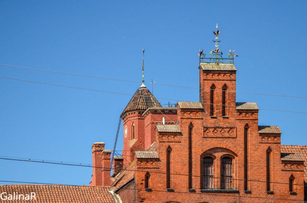 Замок Тапиау в Гвардейске