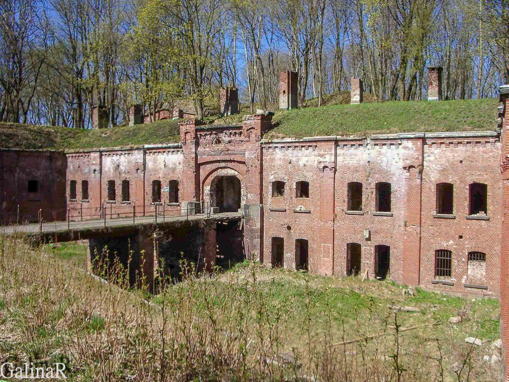 Оборонительный форт 3 в Калининграде