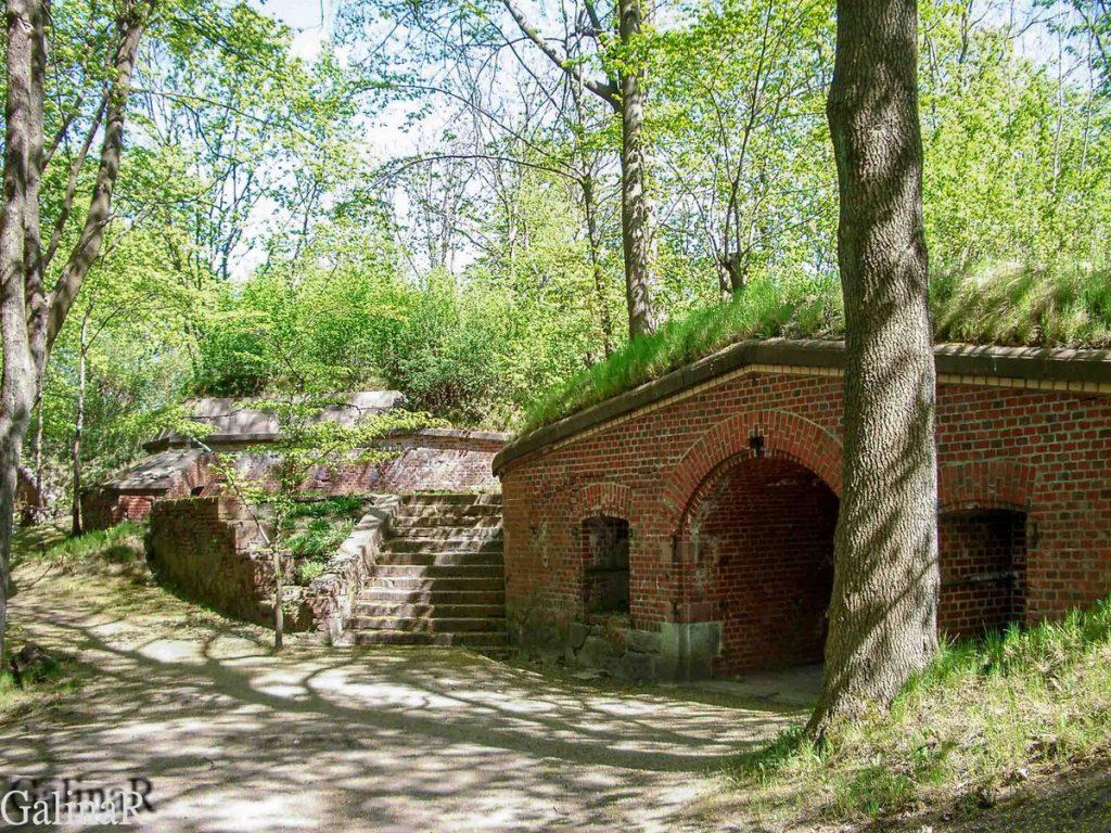 Форт 1 в Калининграде внутренний двор
