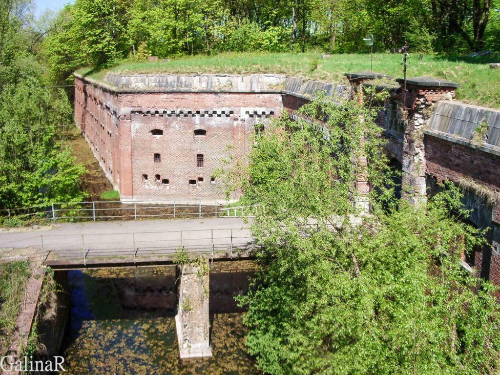 Форт 1 в Калининграде мост через ров