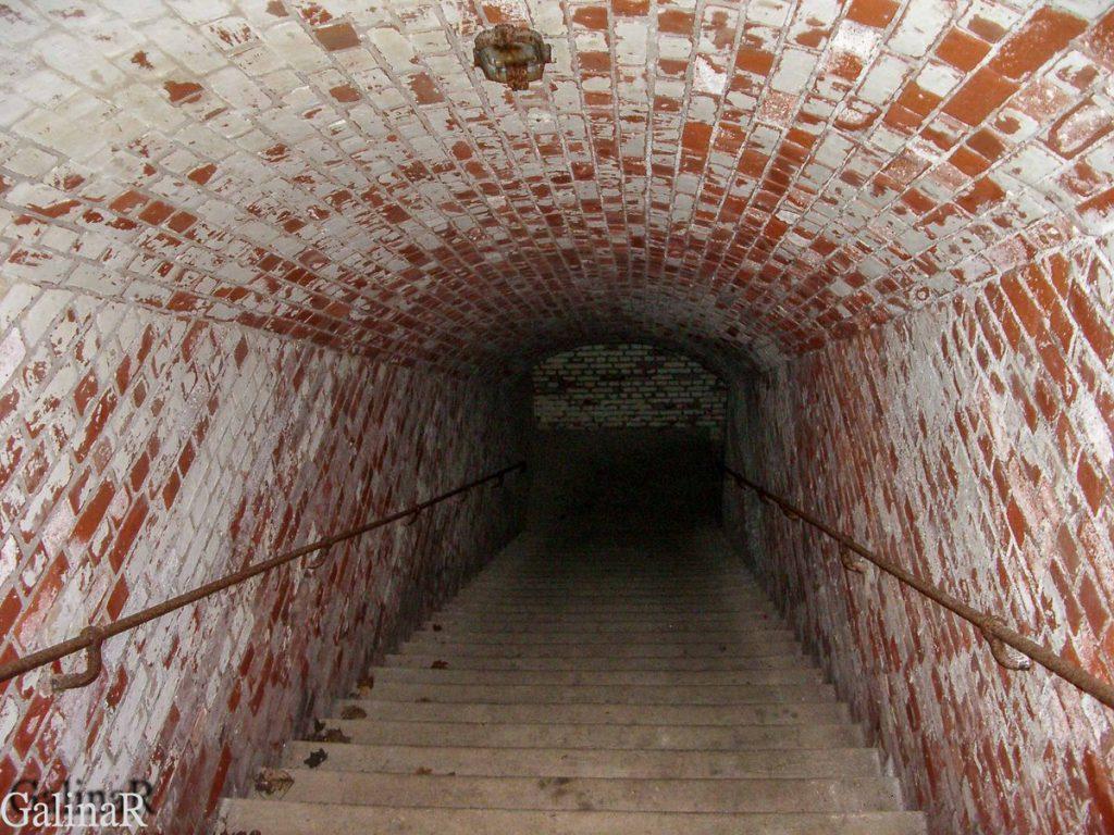 Форт 1 в Калининграде внутри
