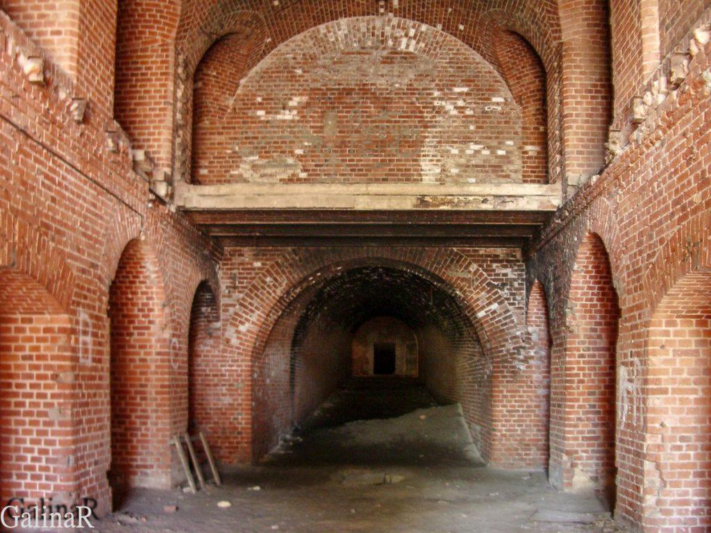 Форт 2 в Калининграде внутри
