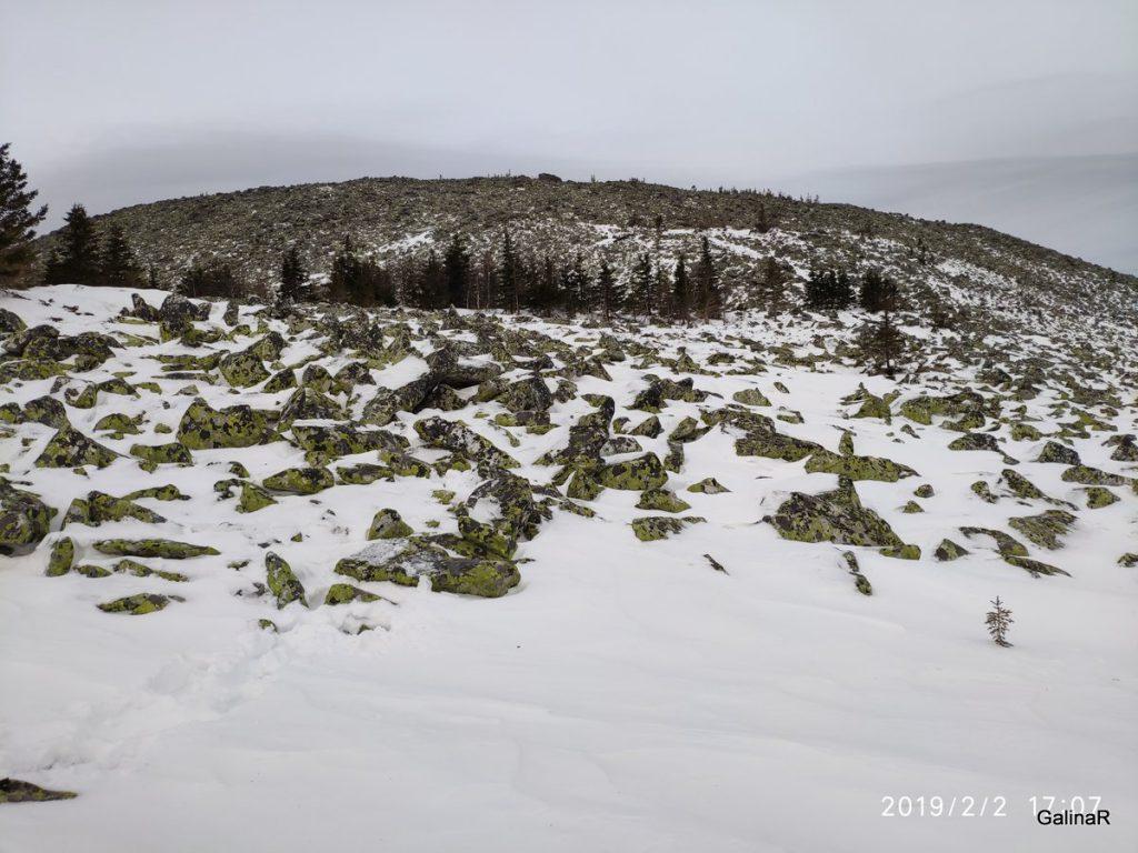 Вершина горы Уван