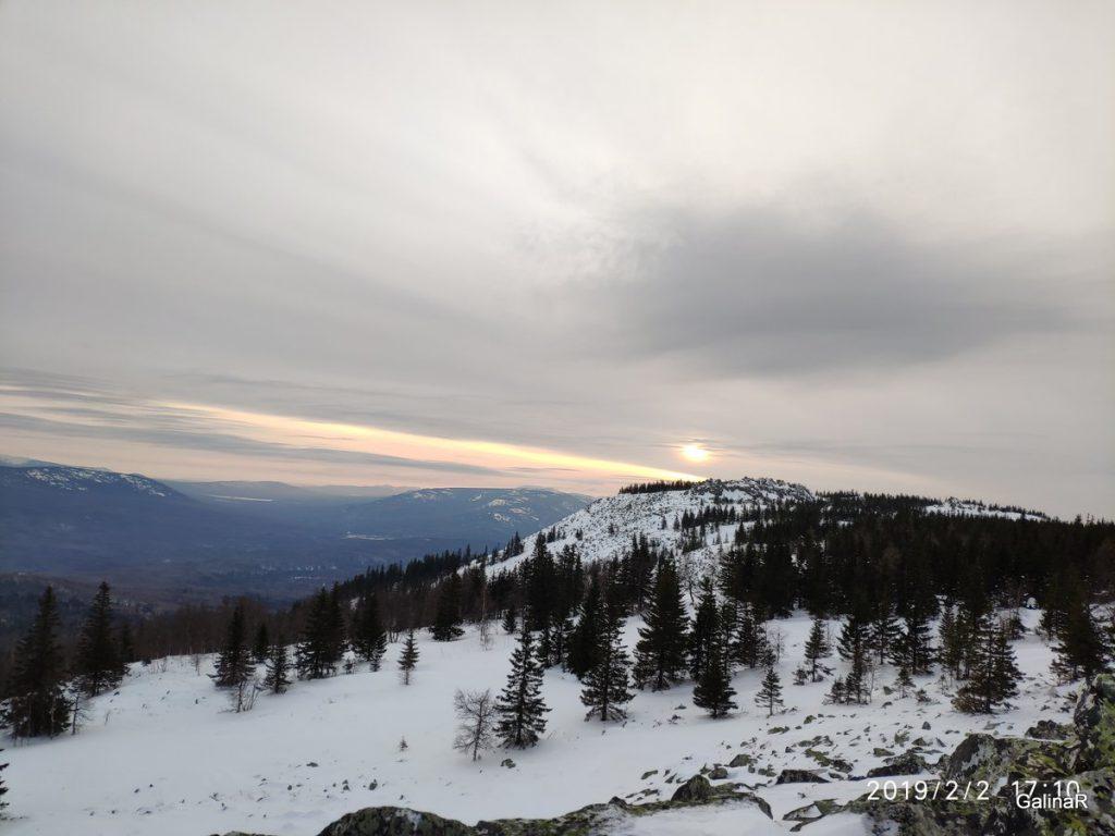 Вид с горы Уван