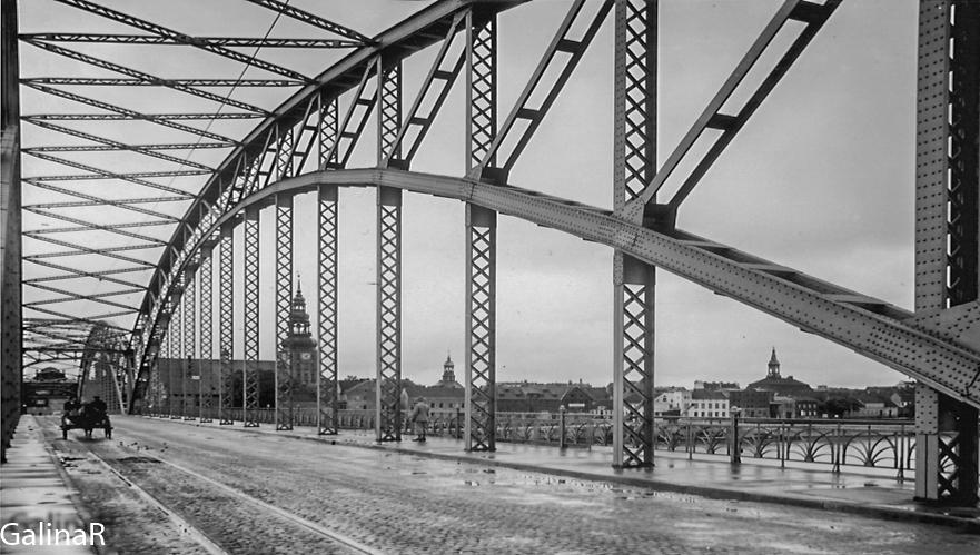 Мост Королевы Луизы металлический арки