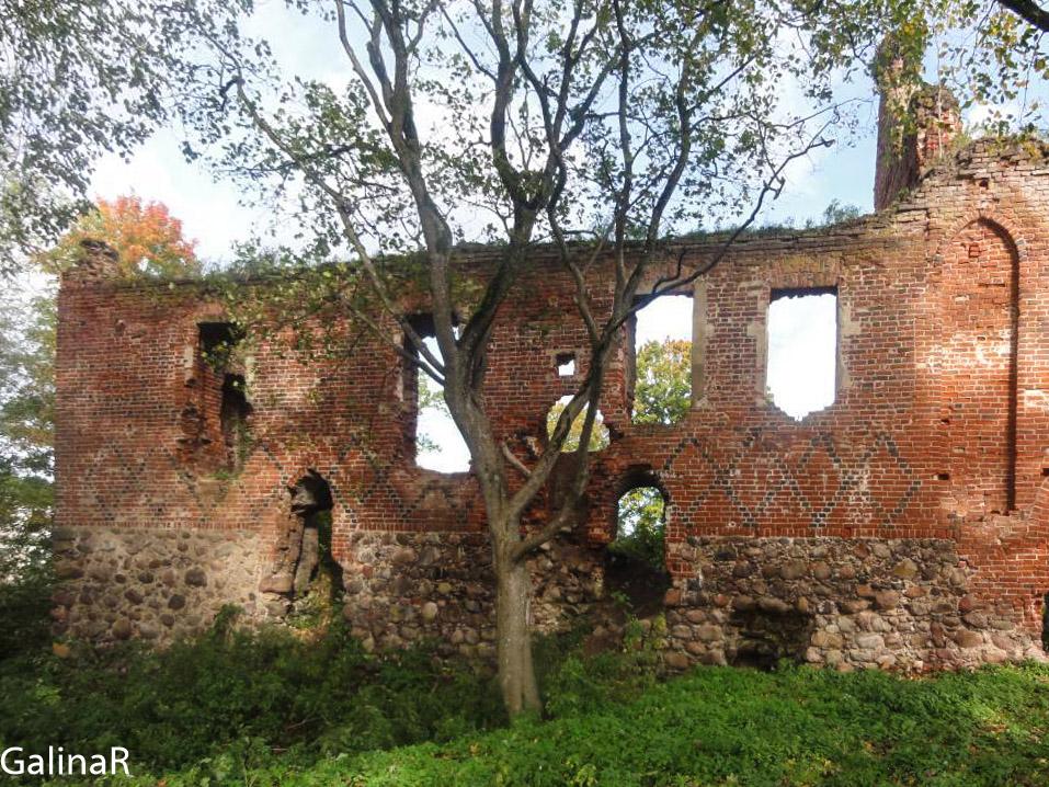 Замок Заалау в Калининградской области
