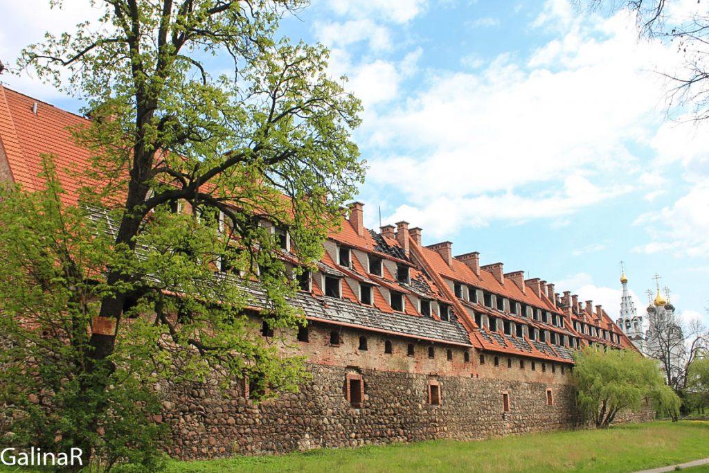 Замок Прейсиш-Эйлау в Калининградской области