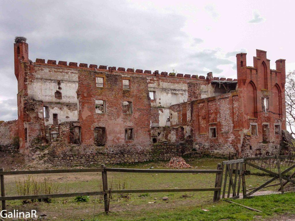 Замок Шаакен в Калининградской области