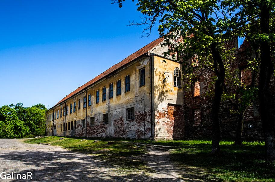 Замок Инстербург в Калининградской области