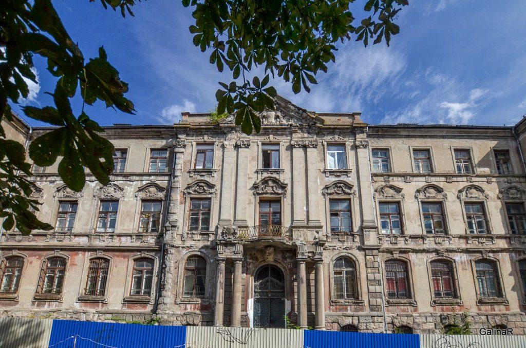 Здание банка Восточно-Прусский ландшафт