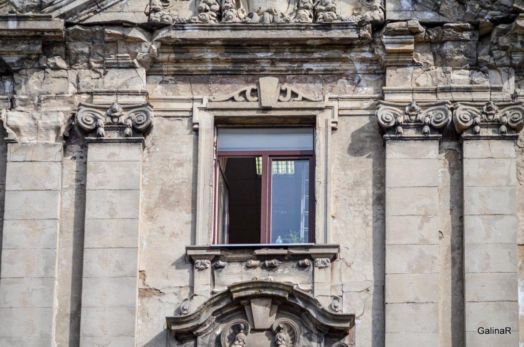 Декор здания банка Восточно-Прусский ландшафт