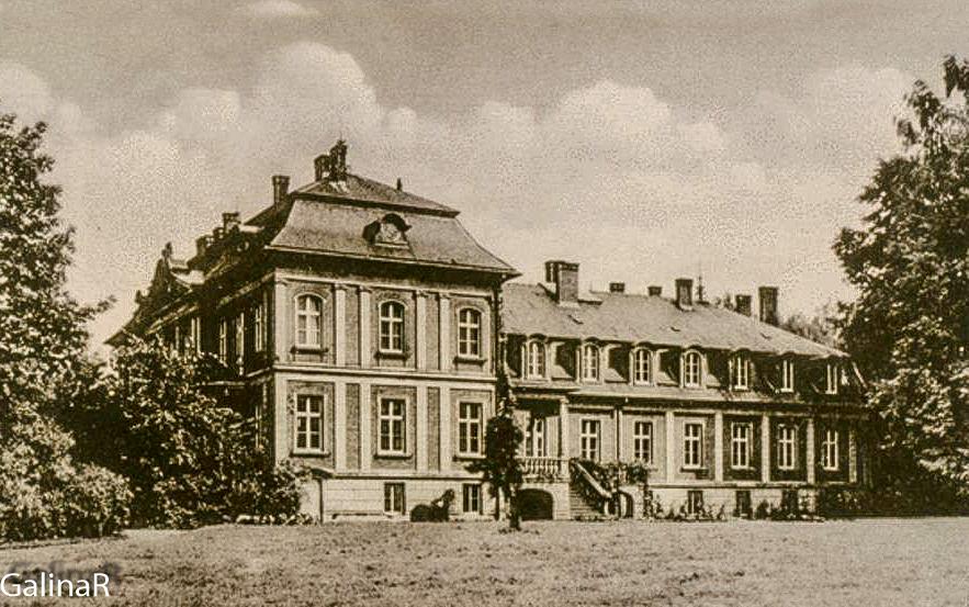 Усадьба рода фон Беловых старое фото Калининградская область