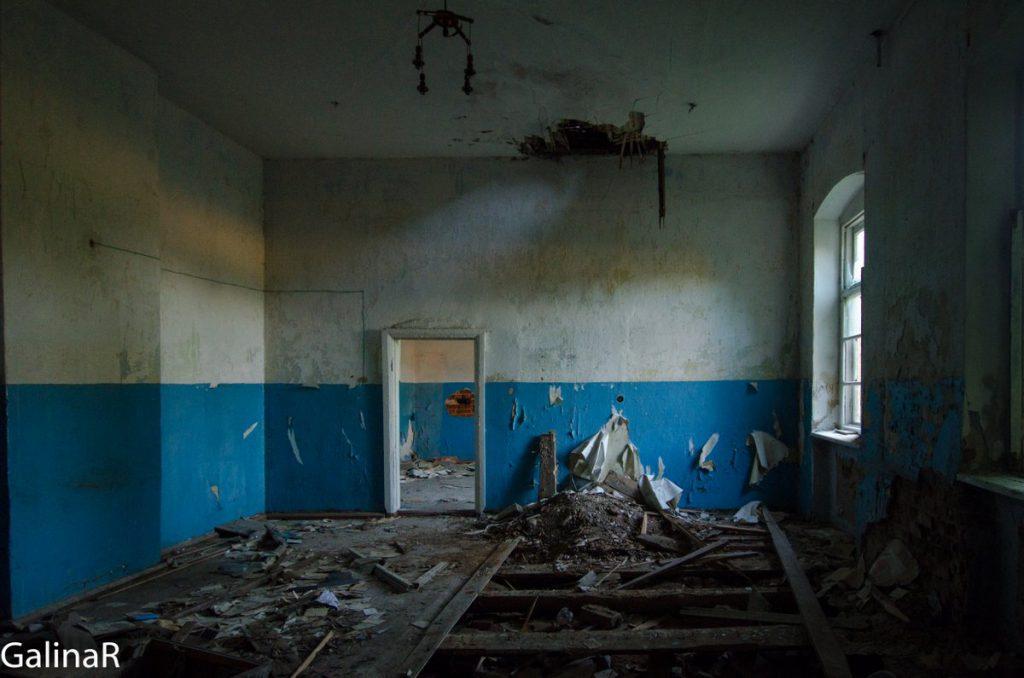 Имение Парненен внутри, Красный Яр Калининградская область