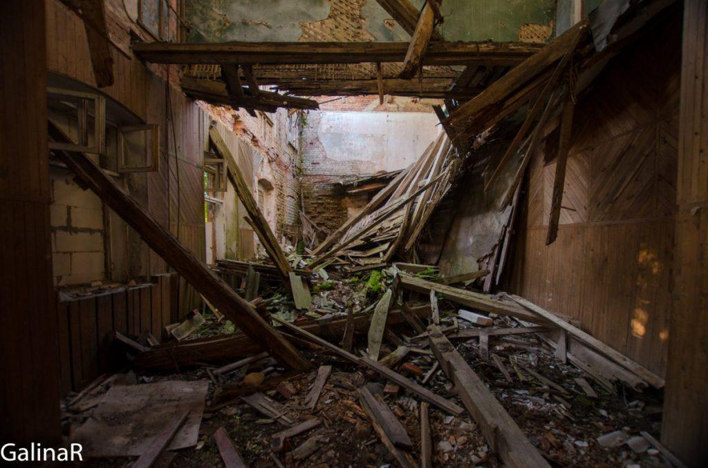 Усадьба Парненен внутри, Красный Яр Калининградская область
