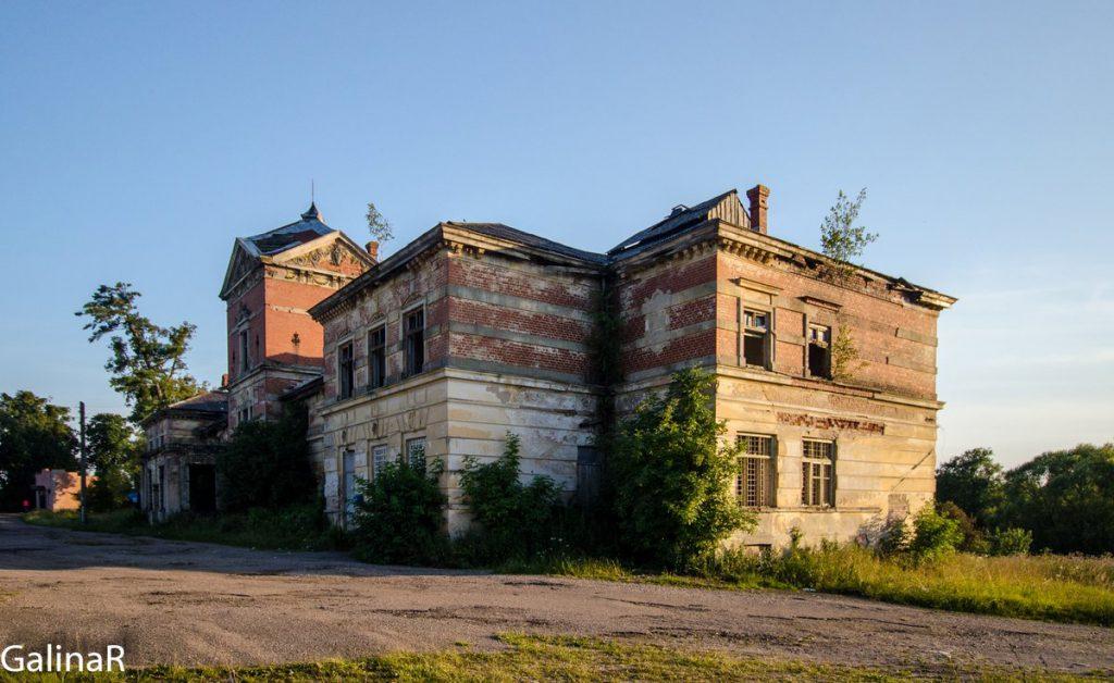 Имение Парненен в Красном Яре Калининградской области