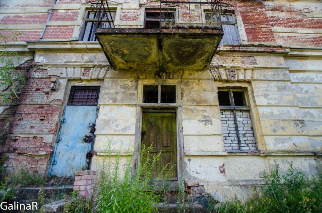 Усадьба Парненен с торца Красный Яр Калининградская область
