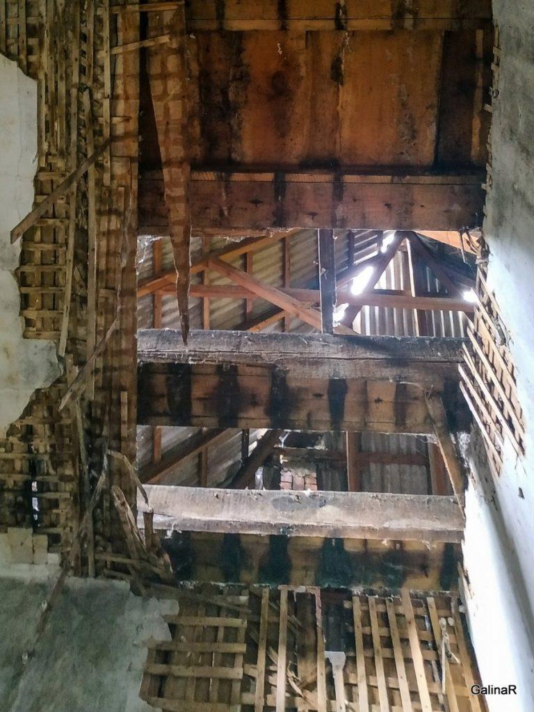 Усадьба рода фон Беловых второй этаж Калининградская область
