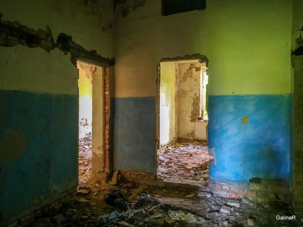 Усадьба рода фон Беловых внутри Калининградская область