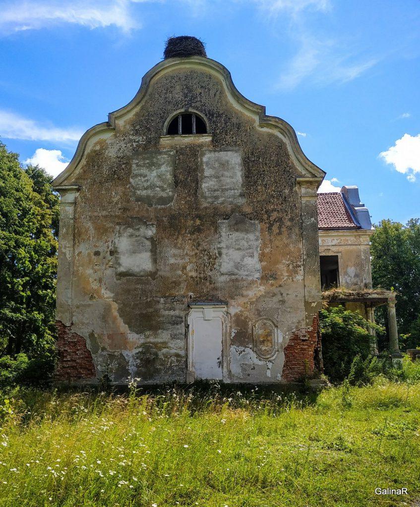 Старинная усадьба фон Заукенхоф, в Калининградской области