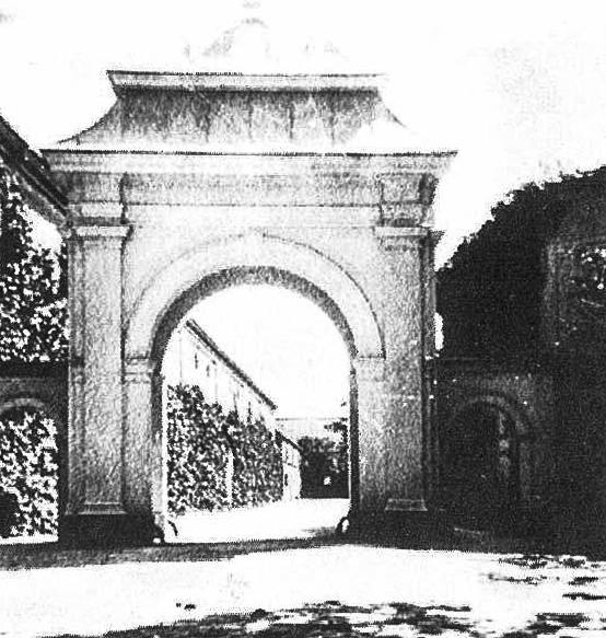 Арка имения Перкаллен старые фото
