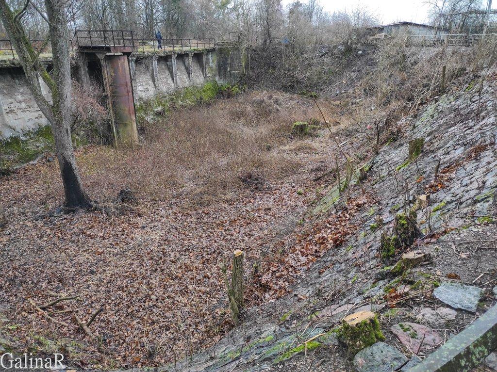 Мазурский шлюз в Дружбе, резервуар для воды