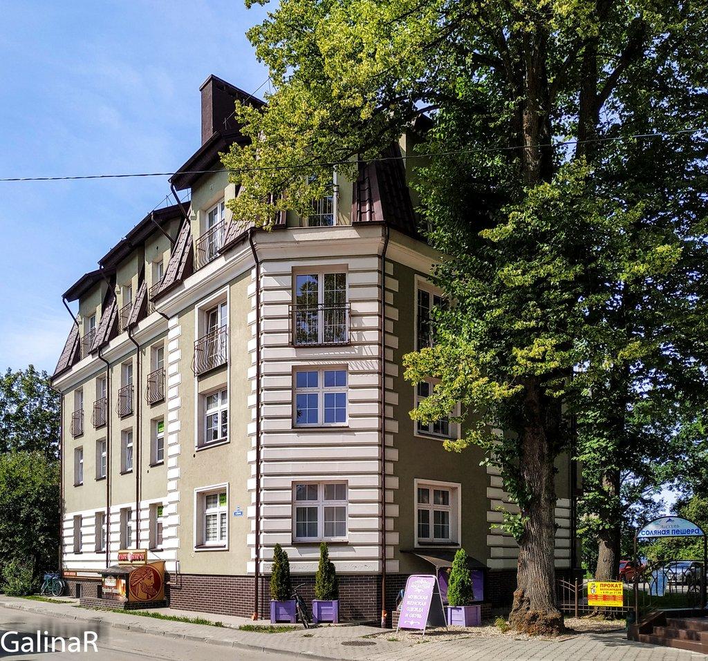 Красивые домики Зеленоградска