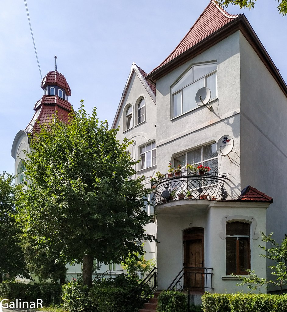 Красивый домики Зеленоградска