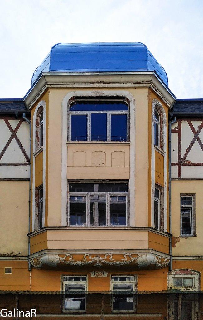 Здание отеля Восточная Пруссия в Зеленоградске